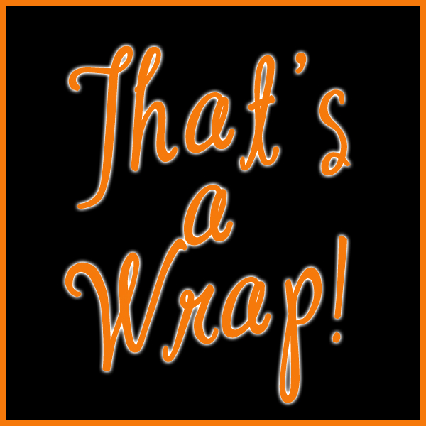 Image result for thats a wrap